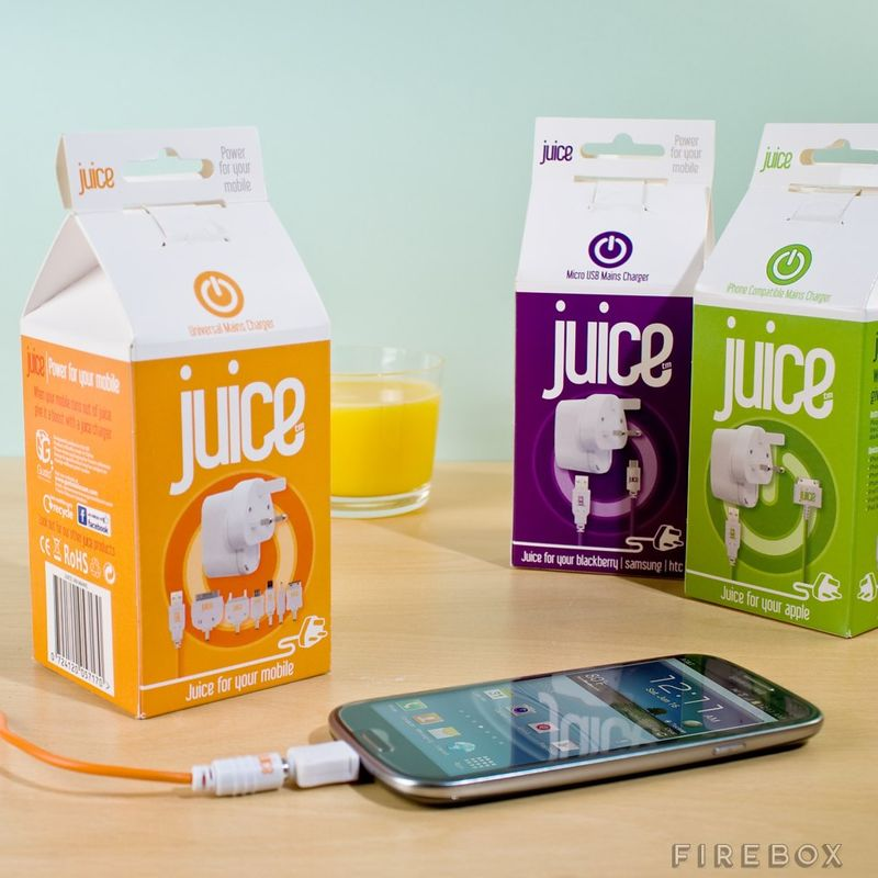 Juice-Inspired Phone Chargers