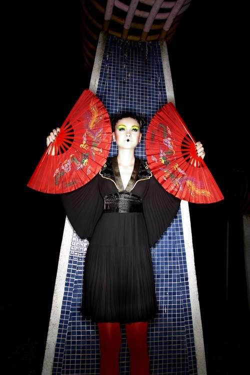 Orientalist Fashion Futuristic Geishas: 'T...