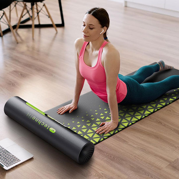 Connected Display Exercise Mats
