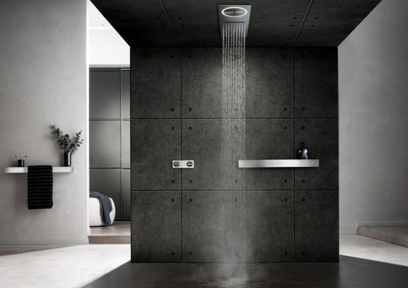 Elegant All-in-One Showers