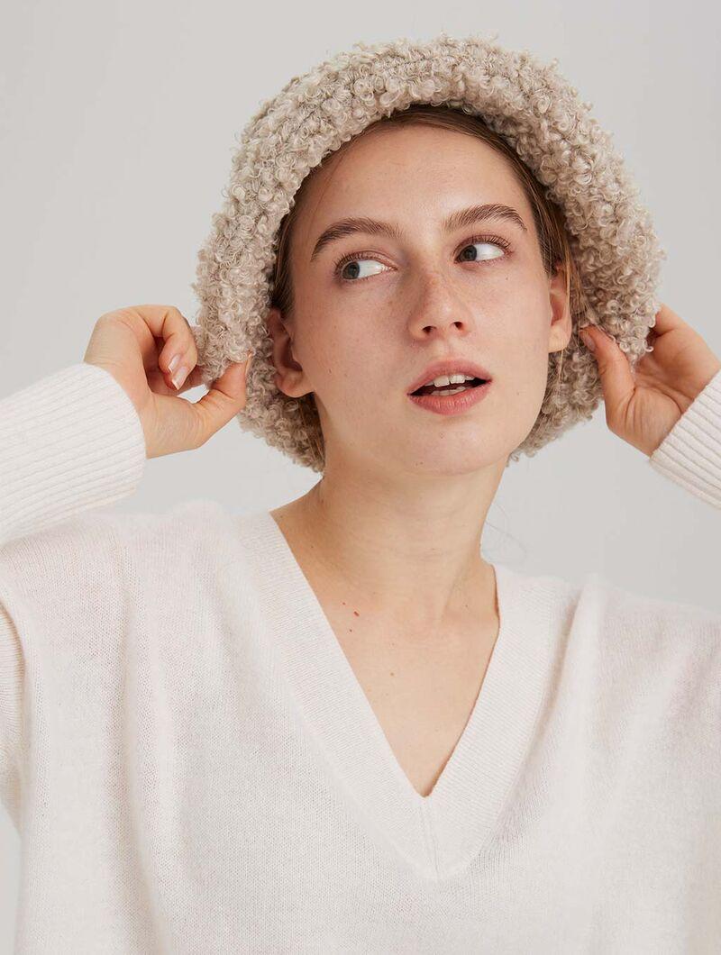 Textured Bucket Hat Accessories