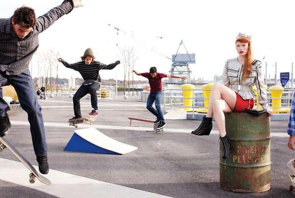 Rebel Skater Spreads