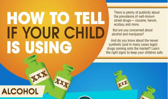 Teenage Drug Use Infographics
