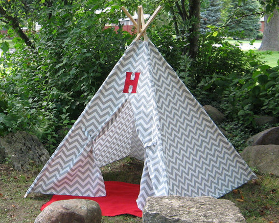 Monogrammed Playhouse Tents