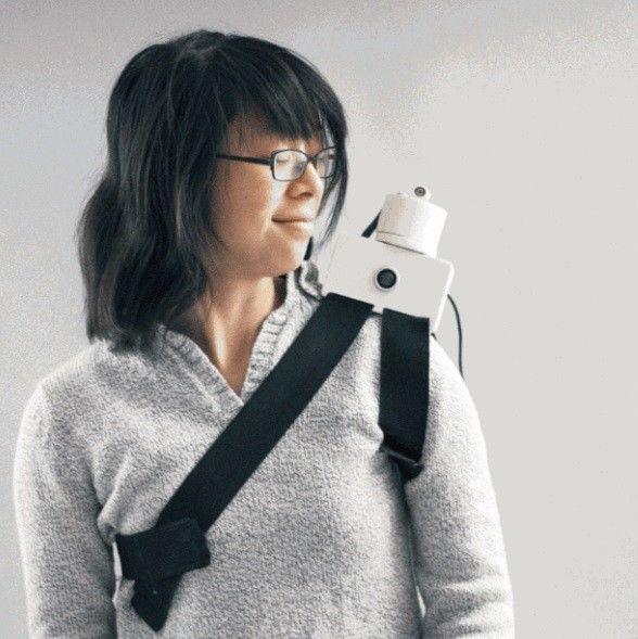 Shoulder-Perched Robots