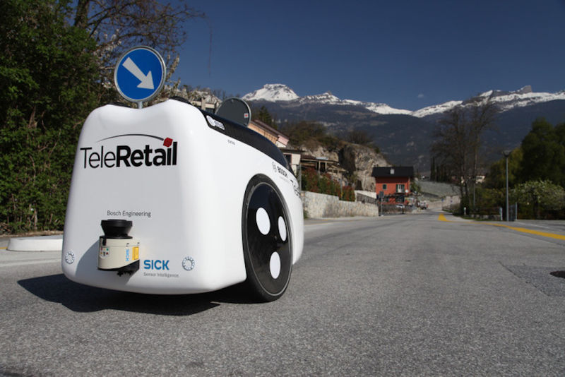 Two-Wheeled Delivery Robots