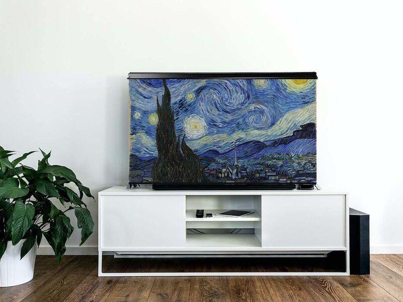 Artistic TV Set Covers
