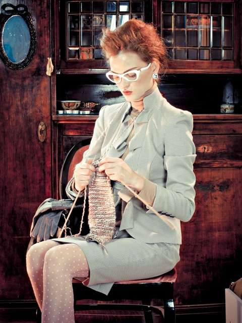 Posh Knitting Photography