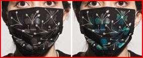 Color-Change H1N1 Masks