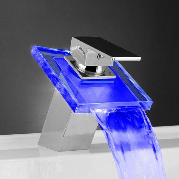 Futuristic Glowing Faucets