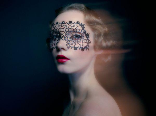 Jewel-Encrusted Eye Decals