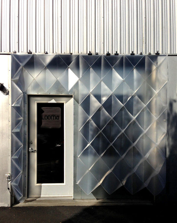 Translucent Temporary Facades