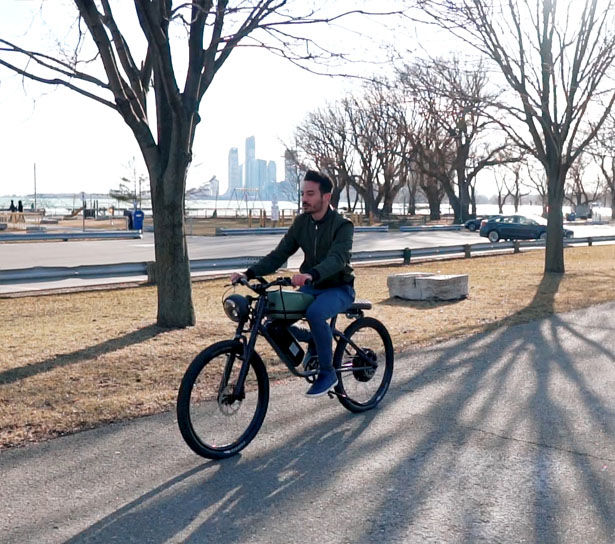 Cafe Racer Electric Bikes