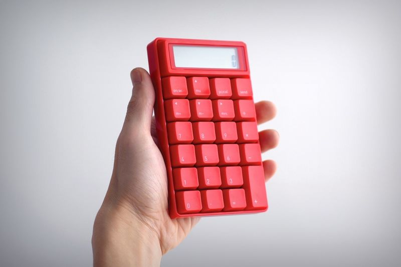 Tactile Keyboard Calculators