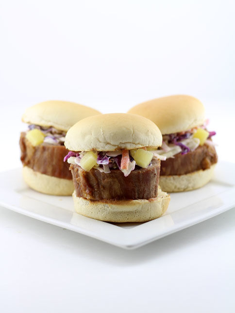 Teriyaki Tenderloin Sliders