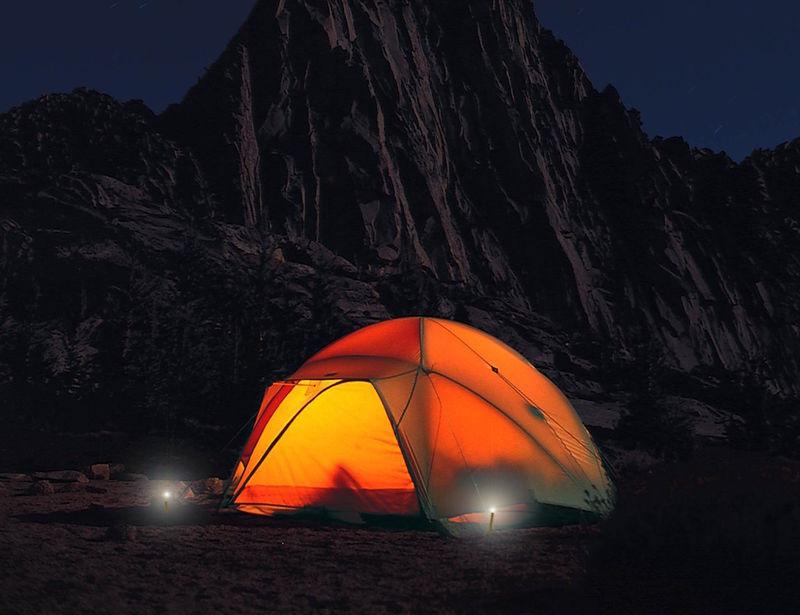 Illuminated Camping Stakes