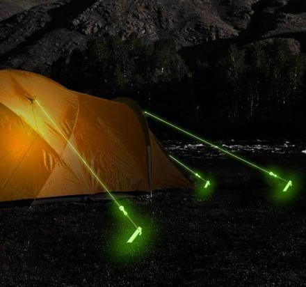 Visibility-Ensuring Camping Rope