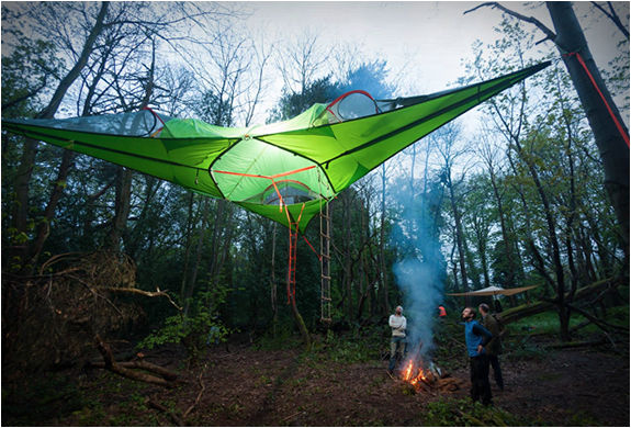 Communal Treehouse Tents & Communal Treehouse Tents : Tentsile Connect Tree Tent