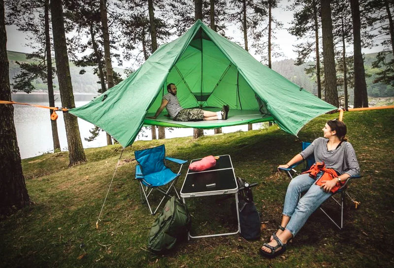 Triple-Purpose Camping Tents
