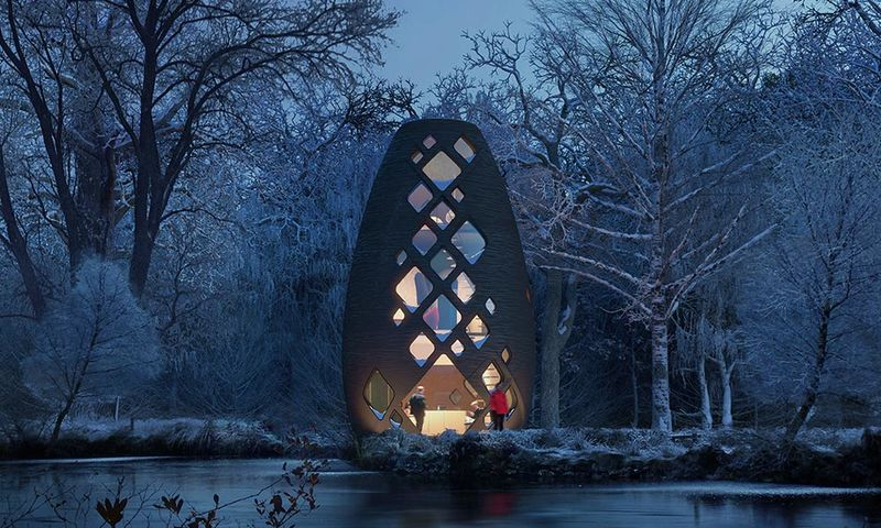 Otherworldly 3D-Printed Houses
