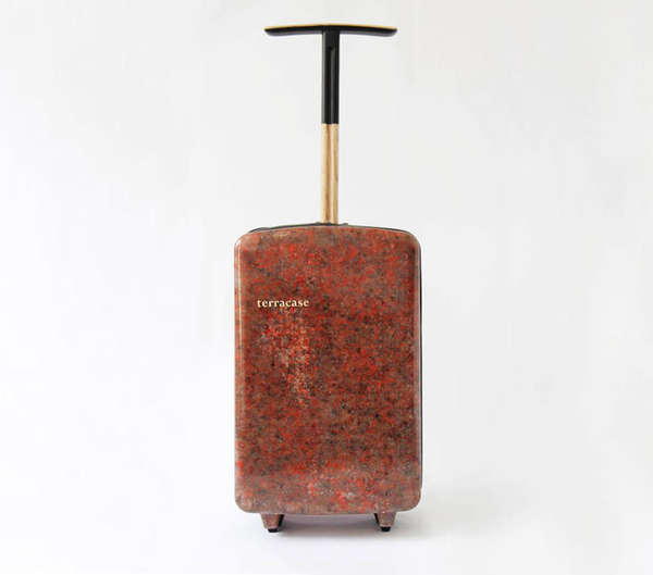 Recycled Carpet Suitcases