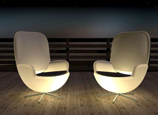 Sleek Illuminating Seats