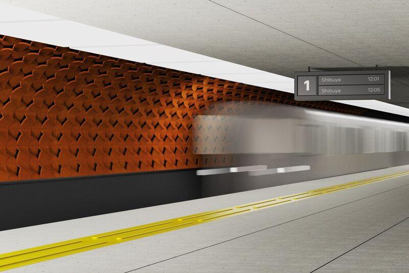 Naturally Cooling Subway Tiles