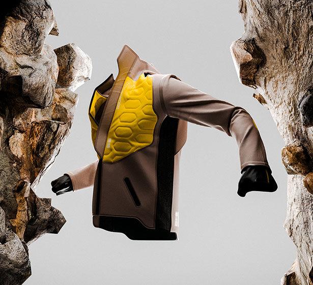 Futuristically Athletic Garment Concepts