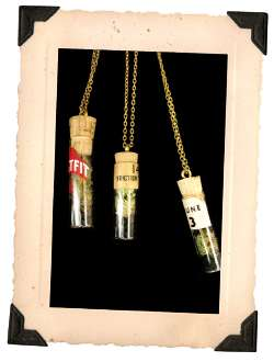 Living Eco Pendants