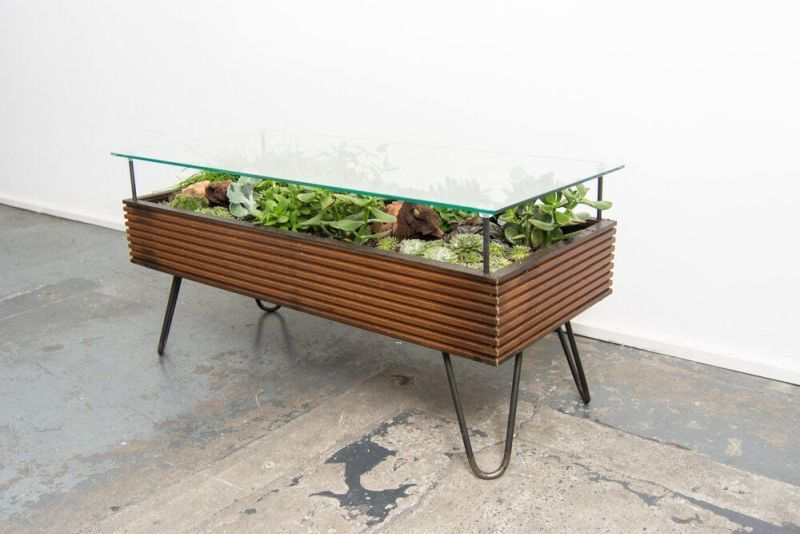 Upcycled Window Plant Tables