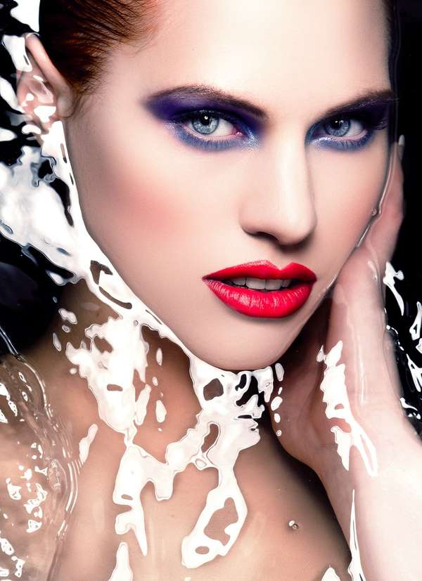 Liquified Beauty Shot Portraits