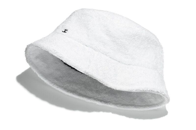 Designer Terrycloth Bucket Hats