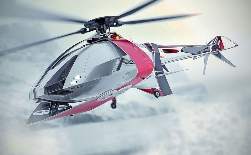 Eco Electrified Helicopters