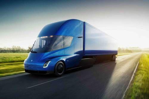 Electrically-Powered Semi Trucks