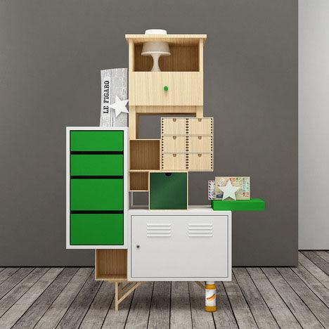 Oddly Assembled Furniture