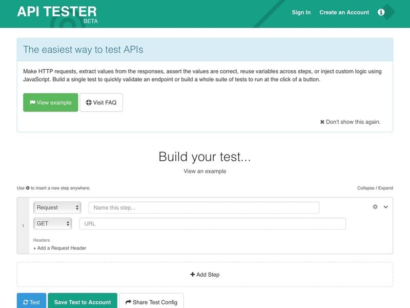 API Testing Software