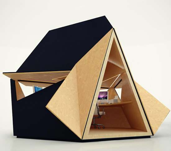 Tepee Work Cubicles