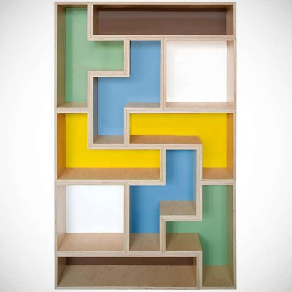 Nice Tetris Inspired Storage Good Ideas