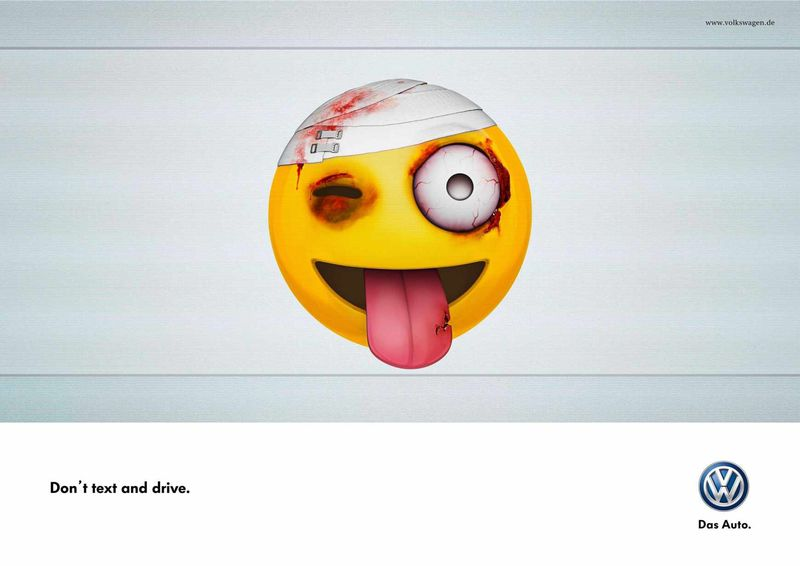 Beat-Up Emoji Ads