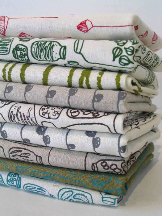 Pretty Hand Printed Textiles