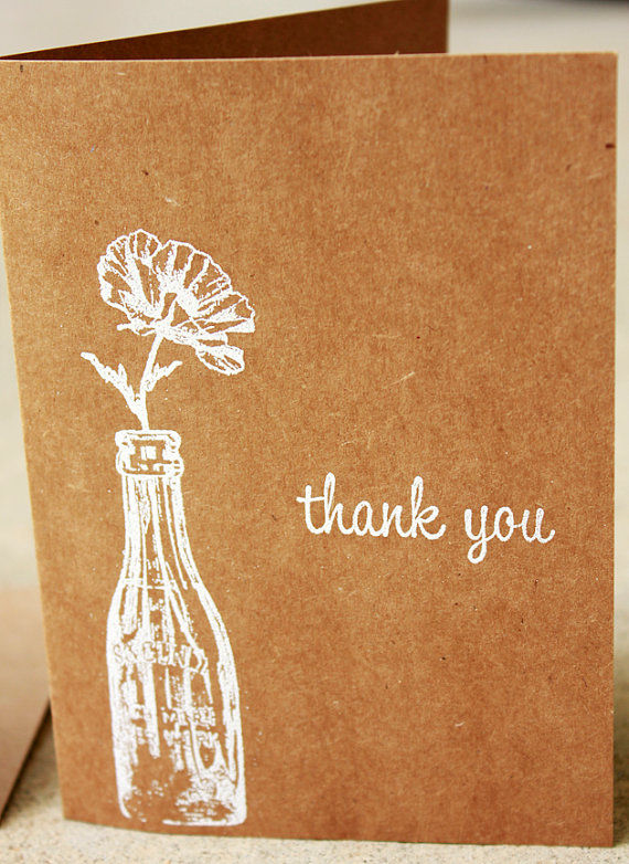 Rustically Appreciative Cards