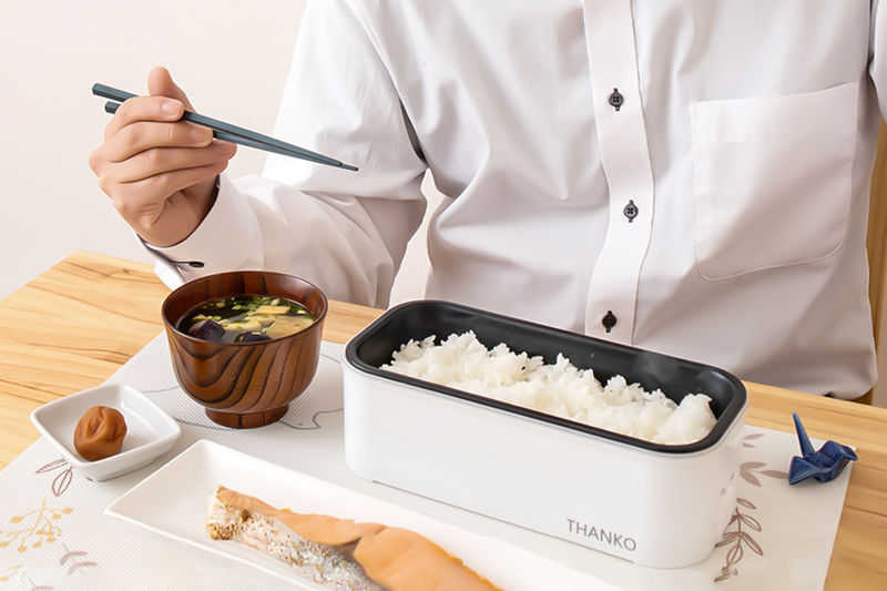 Single-Serve Lunchtime Rice Cookers