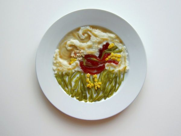 Artistic Thanksgiving Dishes