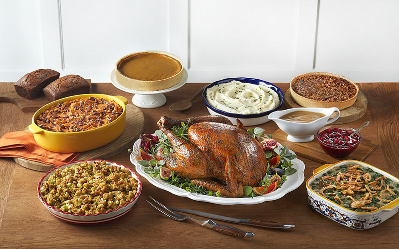 Take-Home Thanksgiving Feasts