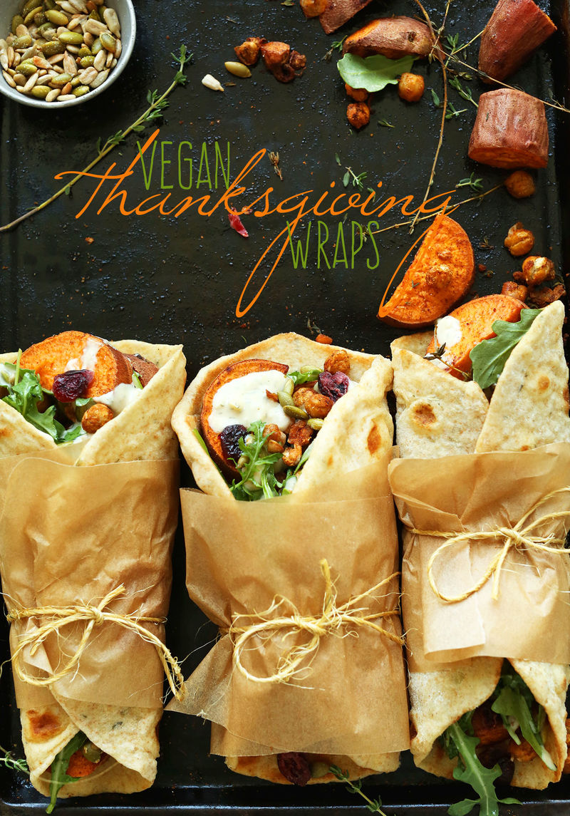 Vegan-Friendly Thanksgiving Wraps