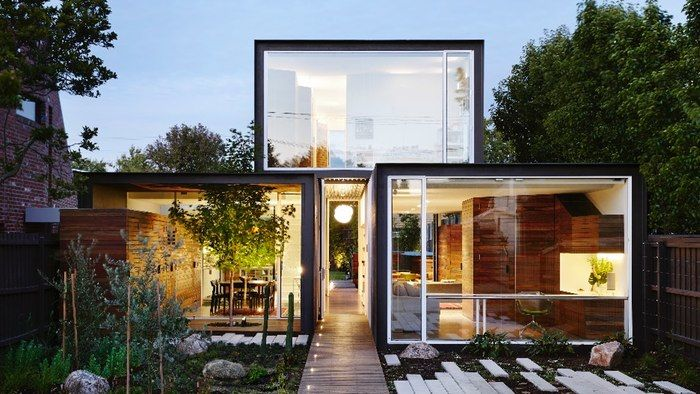 Compact sustainable homes sustainable house for Best house designs melbourne
