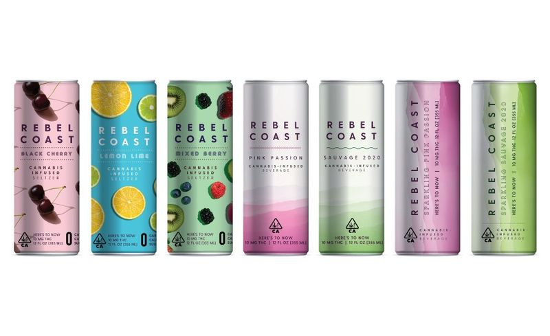 Cannabis-Enhanced Canned Wines