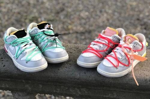 Low-Cut Vibrant Cushioned Sneakers