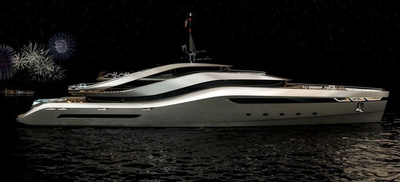 Conceptual High-End Yachts