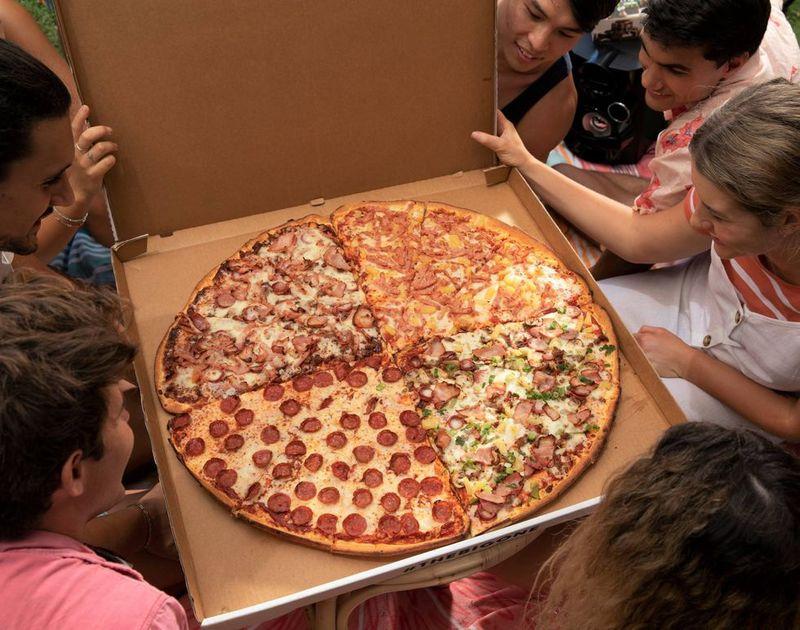 Quadruple Flavor Pizzas